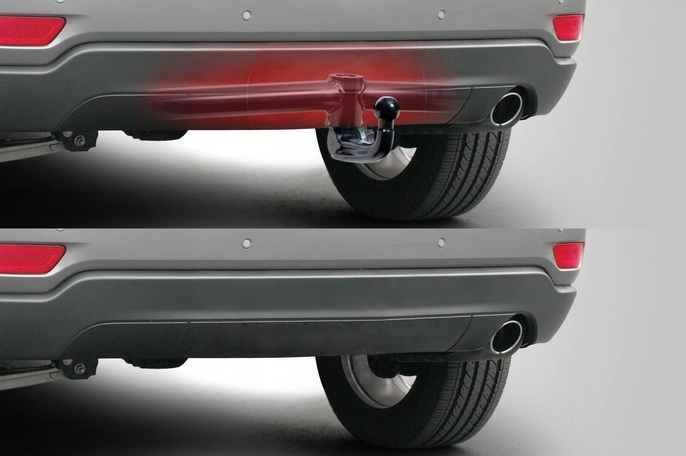 Фаркоп для легкового автомобиля с вертикально-съёмным шаром
