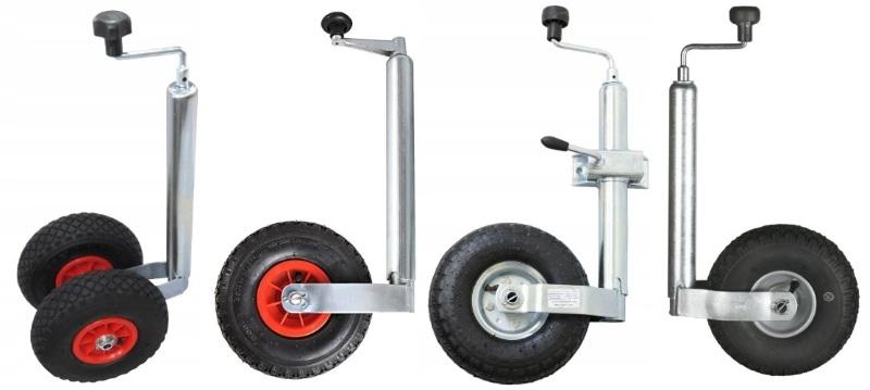 Опорные ножки с надувным колесом